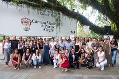Atividade reuniu vereadoras e servidoras do Legislativo porto-alegrense