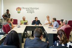 Reunião foi realizada na tarde desta terça-feira