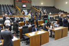 Veto foi votado pelo Plenário nesta quarta-feira