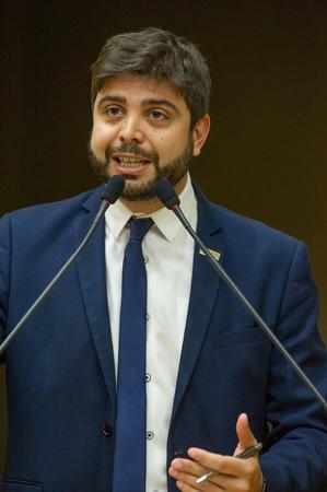 Retrato. Vereador Felipe Camozzato.
