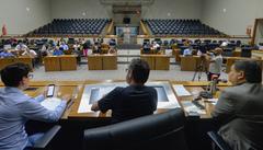 Vereadores que integram a comissão estiveram reunidos nesta quinta-feira