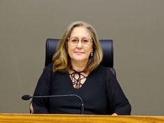 Vereadora Lourdes presidiu a sessão temática