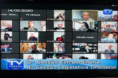 12ª Sessão Extraordinária Remota destinada a definir funcionamento de tramitação de processos na CCJ e na Casa
