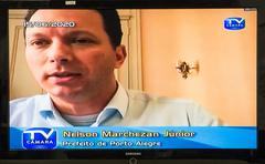 Vereadores reunem-se virtualmente com prefeito Nelson Marchezan Jr para tratar do andamento dos trabalhos virtuais e relações entre os poderes durante a pandemia