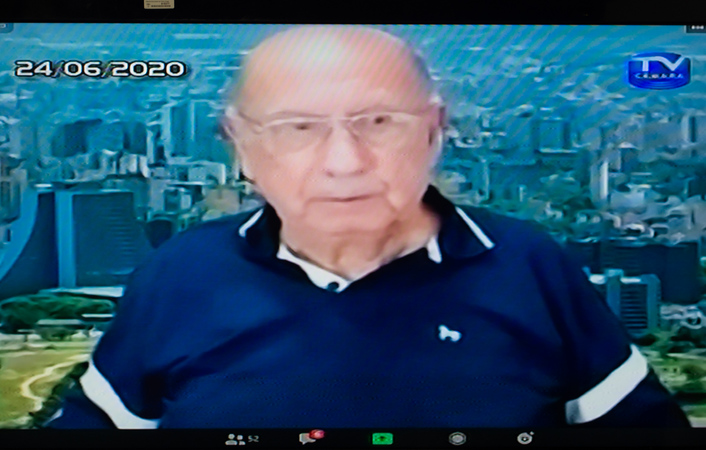 Presidente da CMPA, vereador Reginaldo Pujol