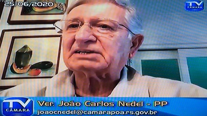 Vereador João Carlos Nedel