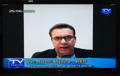 Vereador Alvoni Medina