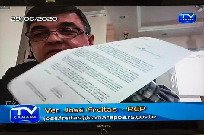 Discussão e votação de projetos, entre eles, proposta da Central e Intérpretes para deficientes auditivos, do Ver. José Freitas