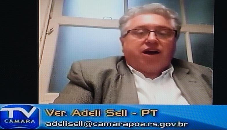 Vereador Adeli Sell (PT)