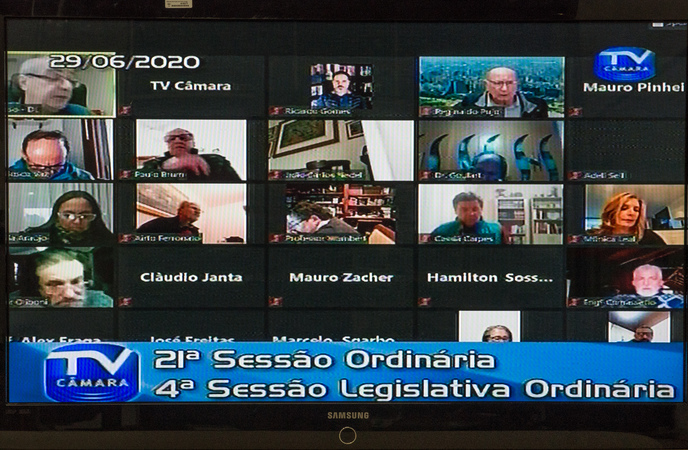 Votação de vetos do Prefeito a projetos do Legislativo