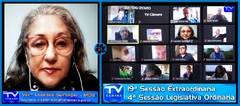 Vereadora Lourdes apresenta proposta sobre aferição de temperatura
