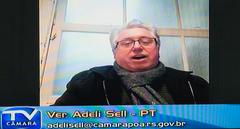 Comparecimento do prefeito de Porto Alegre, Nelson Marchezan Jr. Na foto: vereador Adeli Sell
