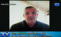 Comparecimento do prefeito de Porto Alegre, Nelson Marchezan Jr. Na foto: vereador Mauro Pinheiro