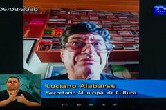 Sessão ordinária. Na foto, secretário municipal da Cultura Luciano Alabarse.