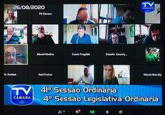 Sessão por videoconferência foi realizada na tarde desta quarta-feira