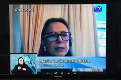 Maria Lucia, do ViaVida,destacou ações que beneficiam a doação de órgãos