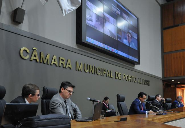Reunião Extraordinária da Comissão Processante.