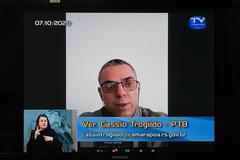 Cassio Trogildo (PTB), autor do projeto