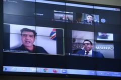 Depoimento, por meio de vídeo conferência, do ex-ministro da Saúde Luiz Henrique Mandetta.