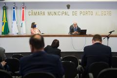 Primeira sessão legislativa presencial pós pandemia.