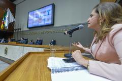 Depoimento da sra. Marta Rossi, testemunha do Prefeito Nelson Marchezan Júnior. Com a fala, Marta Rossi.