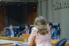 Depoimento da sra. Marta Rossi, testemunha do Prefeito Nelson Marchezan Júnior. Com a fala, o vereador Alvoni Medina.