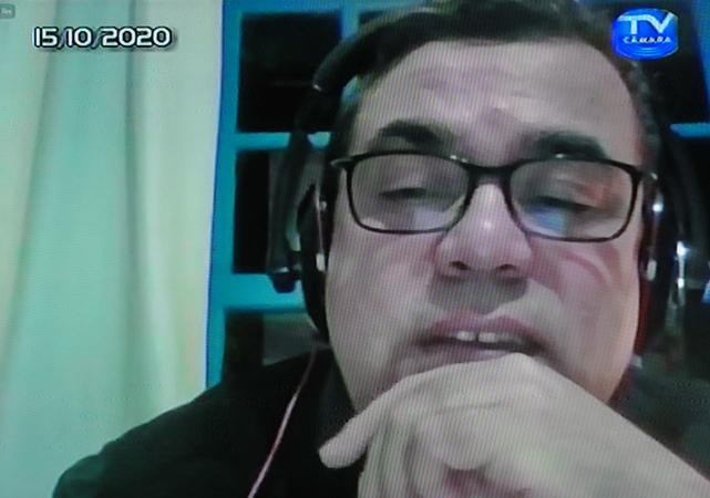 Audiência Pública para debater sobre o PLL 377/17, que trata sobre a remuneração dos agentes públicos. Com a fala, o advogado Amarildo Maciel Martins.