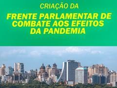 Card Frente Parlamentar de Combate aos Efeitos da Pandemia.