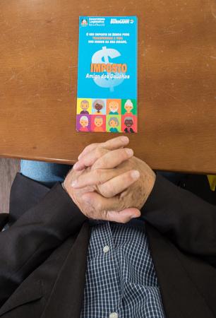 Reunião do Fórum Social Mundial da População Idosa. Presença de diversas lideranças e do Sr. Antonio Costa, Secretário Nacional de Promoção e Defesa dos Direitos da Pessoa Idosa (Foto: Elson Sempé Pedroso/CMPA)