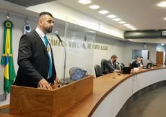 Bobadra utilizou a Tribuna para apresentar sua trajetória e marcar posição como representante da segurança pública em Porto Alegre