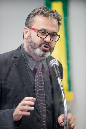 Vereador Roberto Robaina - Retrato. Vereador Roberto Robaina (Foto: Elson Sempé Pedroso/CMPA)