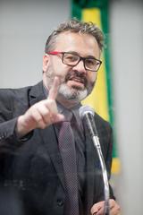 Retrato. Vereador Roberto Robaina