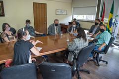 Reunião foi realizada no Salão Nobre Dilamar Machado