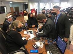 Neste segundo processo de votação, Alexandre Bobadra mais uma vez foi eleito para a presidência da Comissão de Defesa do Consumidor, Direitos Humanos e Segurança Urbana (CEDECONDH)