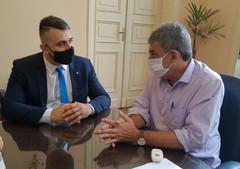 Reunião com o prefeito Sebastião Melo