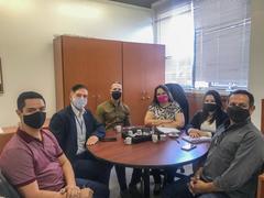 Vereadora Tanise Sabino em reunião com Coordenador da Saúde Mental do Município