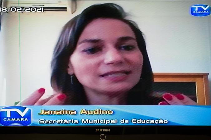 Apresentação do plano para a educação nos próximos 4 anos com a presença da Secretária Janaina Audino