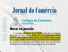 Nota sobre o Projeto no Jornal do Comércio.