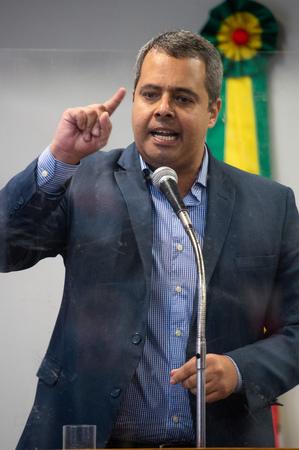 Retrato vereador Pablo Melo.