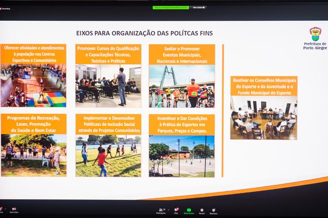 Reunião da Cece. (Foto: Ederson Nunes/CMPA)