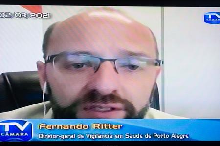 Fernando Ritter lamentou envio de novas doses não esteja ocorrendo com regularidade previsível