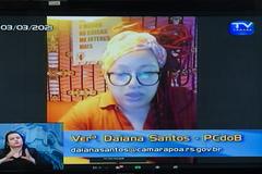 Vereadora Daiana Santos (PCdoB)