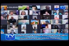 Audiência pública foi realizada pela plataforma Zoom e se estendeu por mais de 3 horas