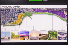 Estrutura já instalada e projetos previstos na área entre Usina do Gasômetro e Parque Gigante foram mostrados