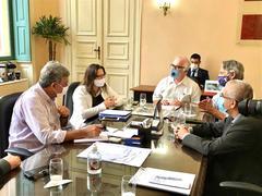 Vereadora Tanise Sabino realiza agenda com Prefeito e Associações do Sistema Funerário de Porto Alegre