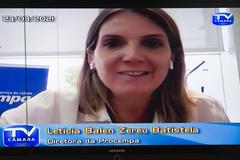 Letícia Batistela, presidente da Procempa, destacou que contratação de outras empresas já é permitida