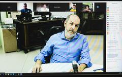 Reunião virtual da CUTHAB sobre  Regularização FundiáriaConvidado: Sr. André Machado, Secretário Municipal de Habitação e Regularização Fundiária