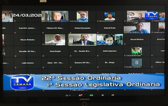 Debates desta quarta-feira foram realizados de modo virtual