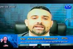 Vereador Alexandre Bobadra (PSL)