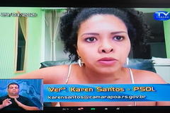 Vereadora Karen Santos (PSOL) era autora do projeto